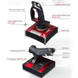 Flight Sim Stick And Throttle