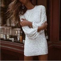 Biała sukienka / ślubna sukienka