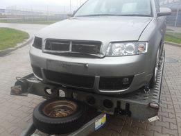 Audi a4b6 LY7Q zderzak przod Poznan