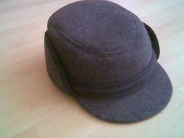 ciepła czapka z daszkiem