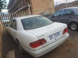 Mercedes E230 stripping or selling complete
