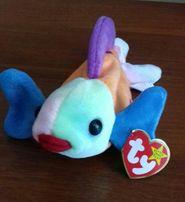Мягкая плюшевая игрушка рыбка рыба фирмы ty Англия