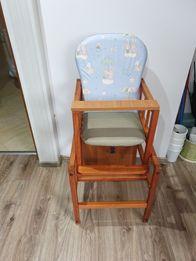 Krzesełko do karmienia 2 w 1 +pokrowce