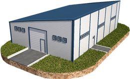 Ангар каркас 16х24 склад, помещение, навес, фермы, производство, крыша