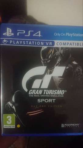 PS4 Game for sale! (Gran Turismo)