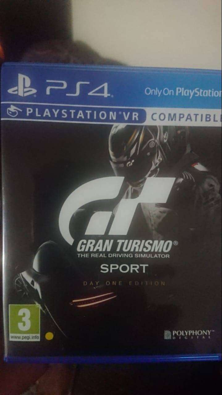 PS4 Game for sale! (Gran Turismo) 0