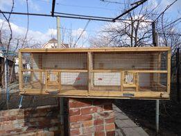 Продам клетки и инвентарь для попугаев, канареек