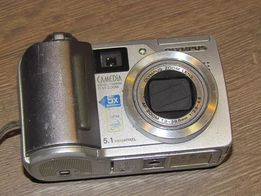 Цифровой фотоаппарат OLYMPUS C-55 zoom 5x 5.1mp