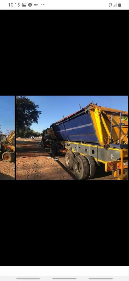 RUBBLE REMOVAL R500 TLB TIPPER TRUCK HIRE 0