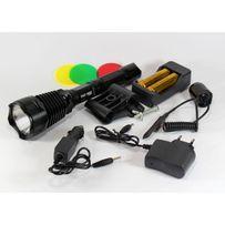 Тактический фонарь POLICE BL-Q2800 T6 150000W фонарик 1180 Lumen
