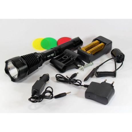 Тактический фонарь POLICE BL-Q2800 T6 150000W фонарик 1180 Lumen Сумы - изображение 1