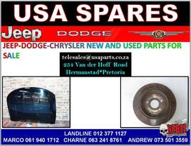 JEEP-DODGE-CHRYSLER NEW AND USED PARTS FOR SALE