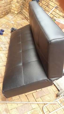 I am selling a black  couch