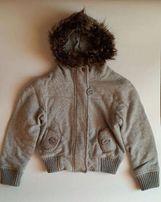Куртка, курточка, толстовка на девочку, рост 117 см (5-6 лет), б/у.