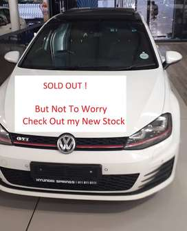 RENT TO BUY  VW Golf Vii GTI 2.0 Tsi Dsg.