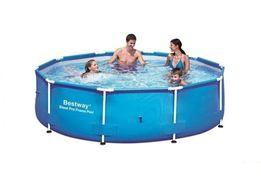 Каркасный садовый бассейн басейн BestWay Steel Pro Frame 305х76 см