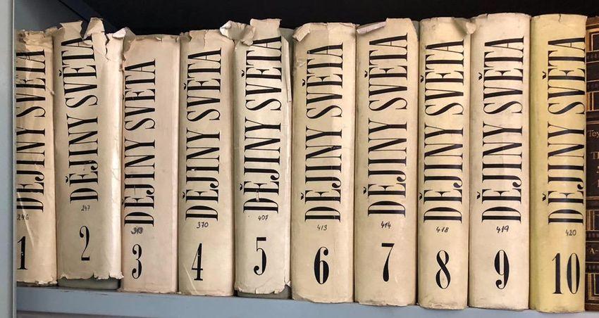 Komplet 10 dílů encyklopedie Dějiny světa, vázané 0