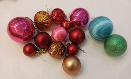 Украшение на елку шарики ассорти