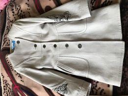 Пальто кашемірове весняне 36 р. Куртка шкіряна Хс