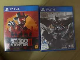 Red Dead Redemption 2 and Batman Return to Arkham:Asylum and City
