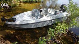 Продается новая лодка+ мотор HONDA75 с газовой установкой 4 пок