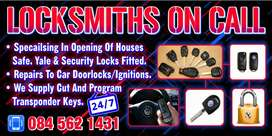24hr locksmith on call