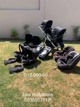 Double Trouble Complete Travel System