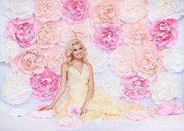 Большие обьемные цветы для фотосессии, свадьбы и других праздников!