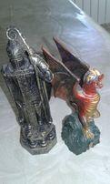 Фигурки из шахмат Гарри Потер/дракон