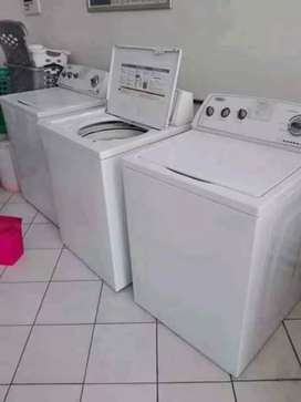 We repair broken Washing machines and Re gassing fridges onsite