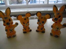 Продам игрушки детские мягкие (резиновые)