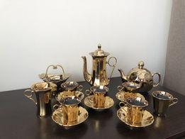 Коростенский фарфор, красивый кофейный сервиз времен СССР