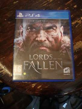 Ps4 Game Lord's of the Fallen