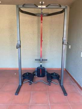 Multi exercise gym equipment