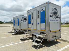 Mobile VIP toilets/freezers for hire polokwane and surroundings
