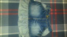 Spódniczka spódnica jeansowa dżinsowa Reporter Young 140