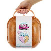 Набор ЛОЛ Cердце-сюрприз в оранжевом кейсе L.O.L. Bubbly Surprise Ora