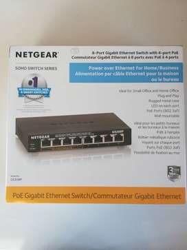8-Port Gigibit Ethernet Unmanaged Switch