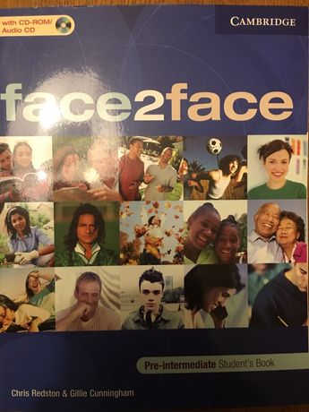 Face2face pre-intermediate students book + CD Warszawa - image 1