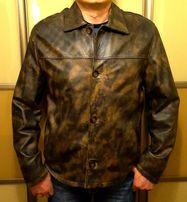 Куртка мужская кожаная демисезонная