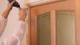 Качественная и быстрая установка дверей межкомнатных любой сложности.