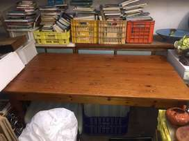 Reduced Dining Room Table - Oregan Pine