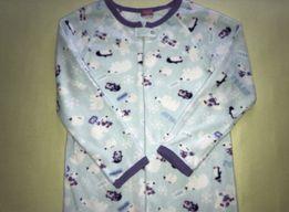 Пижама теплая, пижама, пижама-комбинезон для девочки или на взрослого