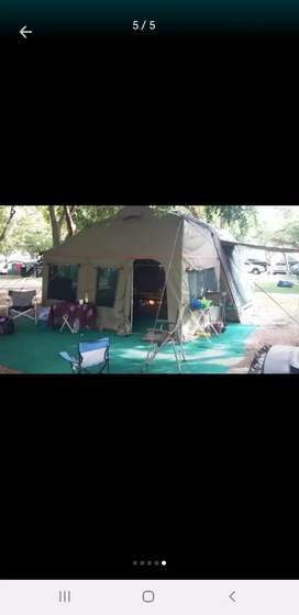 BOTSWANA SPECIAL VENTER TRAILER WITH ROOFTOP TENT