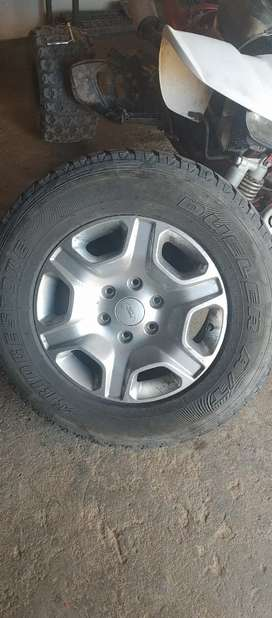 17 inch Ford mags