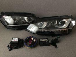 Новые LED Фары Гольф 7 Р,Ксенон Golf 7 R vw,Оптика Фольксваген фонари