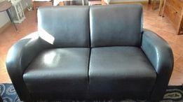 Komplet skórzany sofa 2-osobowa + 2 fotele