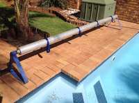 Image of Solar Blanket Roll Up Station 3 Metre for swimming pool