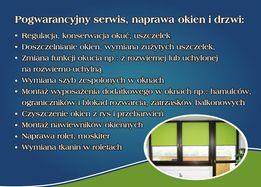 pogwarancyjna naprawa serwis okien i drzwi moskitiery rolety nawiewnik