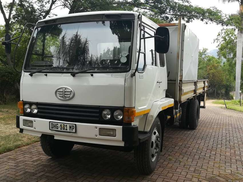 FAW Truck 2006 Model 6Ton dropside with crew cabin 0